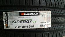 NEW 245/45R19 Kinergy GT H436  HANKOOK - ALL SEASON DOT 2015