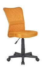SixBros. Bürostuhl Drehstuhl Schreibtischstuhl Orange H-298F/2067