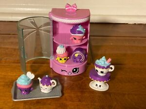 Shopkins Food Fair Cupcake Collection Set - Preowned