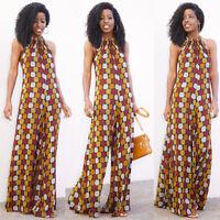 New Women's Clubwear Ladies Playsuit Floral Print Sleeveless Jumpsuit Size 6-14
