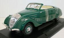Voitures, camions et fourgons miniatures vert pour Peugeot 1:18