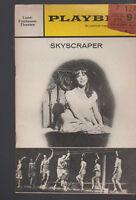 Skyscraper Playbill Julie Harris Charles Nelson Reilly June 1966
