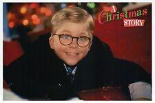 A Christmas Story Peter Billingsley Still Santa Slide - NOT FILM Modern Postcard