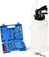 8L Two Way Pneumatic ATF Oil Liquid Extractor 14 pcs ATF Adapters Refill System
