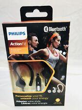Philips ActionFit Clip In-Ear Wireless Sports Headphones (SHQ7800BK/27) - Black