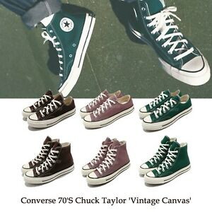 Converse 70s Chuck Taylor Vintage Canvas Hi Low 1970 Men Women Shoes Pick 1