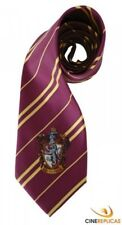 Harry Potter Cravate Gryffondor Pourpre Or emblème Gryffindor microfibre 560066