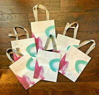 lot of 6 small-size Anthropologie gift shopping bags