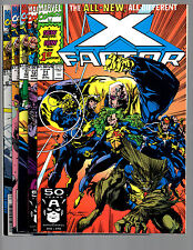 X-Factor # 71 72 73 74 & 75 NEW TEAM ! all VF/NM TO NM