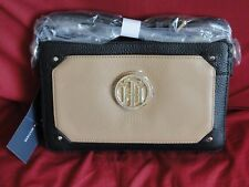 Tommy Hilfiger Women's Natural Tina Pebble Leather Small Crossbody - NWT