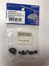 Align Rc Trex 450 Anti Rotation Bracket Spacers & Sx Mounting Parts