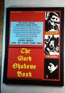 """The Dark Shadows Book"", rare 1988 history, guide, reference, photos, Barnabas"