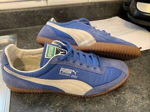 Puma squash 2000 Size 9 Rare 2012 Release Blue/white detail