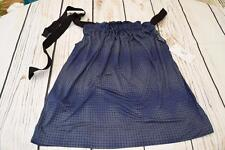 BNWT Selected Femme Ladies Strappy Top Colour Blue Size (S)10 K1