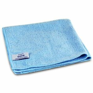 Blue Microfiber Cloths, Professional Cleaning Cloth, Large 1, 2, 5, 10, 20