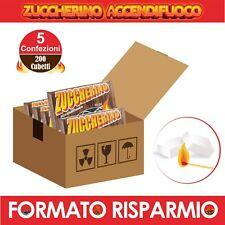 DIAVOLINA 200 Cubetti Accendifuoco Camino Stufa BBQ Barbecue