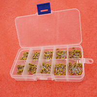 300pcs 10 Value 50V 10pF To 100nF Multilayer Ceramic Capacitor Assortment Kit