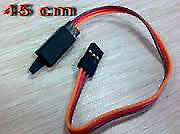 45CM Servo Lead Extension (JR) with hook 26AWG