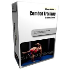 Combat Takedowns Strikes and Throws Self DefenCe Training Learning Guide Course