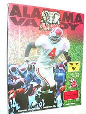 Crimson Tide Kickoff Alabama vs. Vanderbilt  Program September 12, 1998