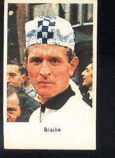 FERDINAND BRACKE cyclisme card carte Equipe 70s Cycling Ciclismo PEUGEOT