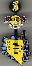 Hard Rock Cafe LAS VEGAS 2004 NEVADA STATE GUITAR PIN HRC Catalog #26221
