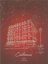 Catalogue Hédiard 2012 cadeaux vin champagne