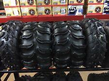 1997-2014 Honda Recon ATV Mud Tire Set of Four Super Swamper Swamplite Combo NEW