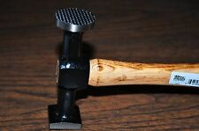 AUTO BODY SHRINKING HAMMER WITH SQUARE HEAD,WOOD HANDLE MARTIN162G MADE IN USA