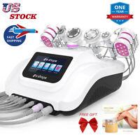 2021 S-SHAPE Ultrasound Cavitation Vacuum Suction&RF LED Body Slimming Machine