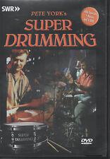 Super Drumming Pete York SWR Alle Specials + Bonus auf 3 DVD NEU Kult