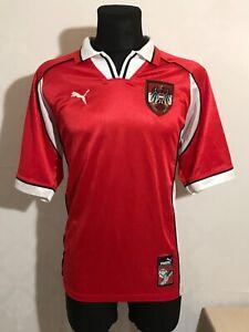 AUSTRIA FOOTBALL SHIRT PUMA ORIGINAL 1998-2000 VINTAGE AWAY JERSEY SIZE XL