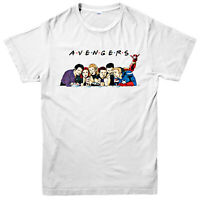 Avangers T-Shirt, Inspired By Friends Marvel Comics Superheroes Funny Gift Top