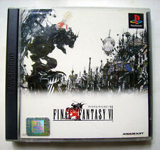 FINAL FANTASY VI 6 - PS1 JAPON