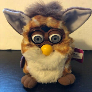 98/99 Tiger Electronics Furby Stripes Blue Eyes Vintage 70-800 W/Tag Not Tested