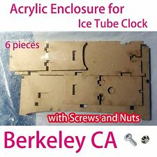 Acrylic Enclosure Case for Ice Tube Clock (plexiglass)