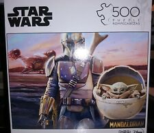 Star Wars The Mandalorian 500 Piece Puzzle-NEW