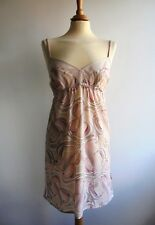 B by Ted Baker Pink Short Slip Cami Nightie Night Dress Size 12