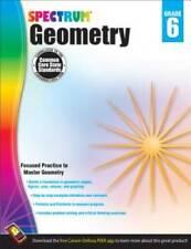 Geometry Workbook, Grade 6 (Spectrum) - Paperback By Spectrum - VERY GOOD