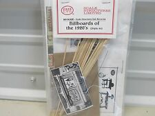 SS - LTD # 1108 ~ BILLBOARDS OF THE 1920'S ~ KIT ~HO SCALE
