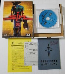 Japanese Windows 95 98 PC Game SiN CD-Rom (1998) Big Box FPS Japan 0314A27