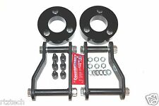 "FITS NISSAN FRONTIER 2005-2015 F&R 3"" & 2"" LIFT KIT SPACERS SHACKLES 4WD B USA"