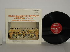 The Little Singers Of Tokyo at Lincoln Center LP Shin'ichi Hasegawa SW99378
