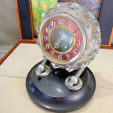 Vintage Art Deco 8-Day Antique Mantel & Carriage Clocks