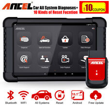 OBD2 Scanner Full System AT ABS SRS TPMS EPB Reset Auto Android Diagnostic Tool