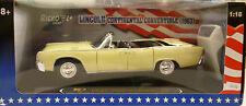 Ricko 1/18 1963 Diecast Lincoln Continental Convertible