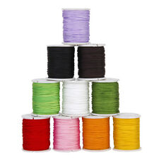 10 Rolls Mixed Nylon Cord Beading Thread String for DIY Jewellery Making 0.8mm