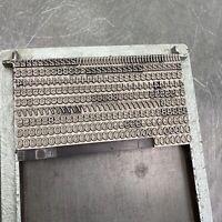 7,5 mm HELVETICA - ZAHLEN - Bleisatz Handsatz Bleilettern Buchdruck Druckerei
