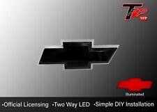 2007 - 2013 Chevrolet Silverado Tailgate Logo Emblem - Black