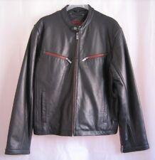 Hard Rock Cafe Jacket Men's Black Leather sz M